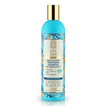 Rakytníkový šampón pro poškozené vlasy «Výživa a revitalizace»